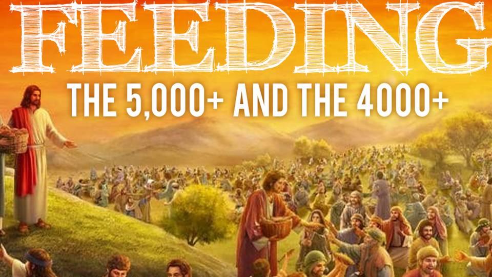 Feeding the 5,000 - Mark 6:33-44